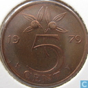 Coins - the Netherlands - Netherlands 5 cents 1979