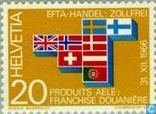 Postage Stamps - Switzerland [CHE] - EFTA