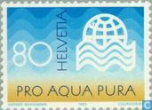 Postage Stamps - Switzerland [CHE] - Int. Water Care Association Zurich