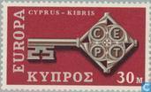 Postzegels - Cyprus [CYP] - Europa – Sleutel