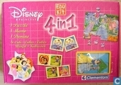 Disney Princess  -  4 spellen in 1