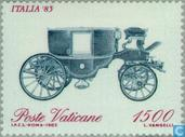 Postage Stamps - Vatican City - Int. ITALIA '85 Stamp Exhibition