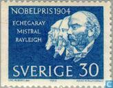 Lauréats du prix Nobel 1904