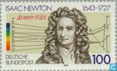 Postage Stamps - Germany, Federal Republic [DEU] - Isaac Newton