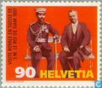 Postage Stamps - Switzerland [CHE] - State visit King of Siam 100 years