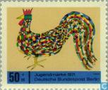 Postage Stamps - Berlin - Children's Drawings