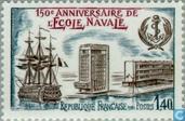 Postage Stamps - France [FRA] - Naval school