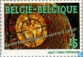 Postage Stamps - Belgium [BEL] - Cancer Society