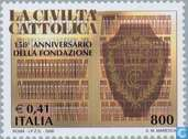 Postage Stamps - Italy [ITA] - La Civita Cattolica 150 years