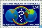 Postage Stamps - France [FRA] - International medical aid