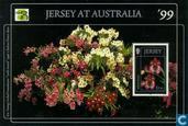 Briefmarken - Jersey - Orchideen