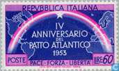 Postage Stamps - Italy [ITA] - NATO 4 years