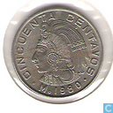 Monnaies - Mexique - Mexique 50 centavos 1980 (date étroite)