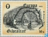 Briefmarken - Gibraltar - Europa – Der menschliche Geist
