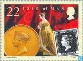 Postage Stamps - Man - Victorian era