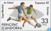 Postage Stamps - Andorra - Spanish - World Cup Soccer