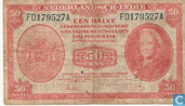 Dutch East Indies 50 Cent