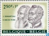 Postzegels - België [BEL] - Belgische persoonlijkheden
