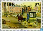 Timbres-poste - Irlande - Autobus