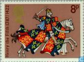 Postzegels - Groot-Brittannië [GBR] - Ridders