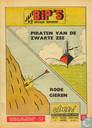 Comics - Jack Bip's - Piraten van de zwarte zee + Rode gieren