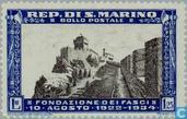 Postage Stamps - San Marino - Fascist party