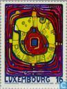 Postage Stamps - Luxembourg - Cultural capital