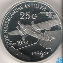 1994 25 Netherlands Antilles guilders
