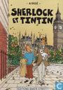 Affiches et posters - Bandes dessinées - Airgé : Sherlock et Tintin