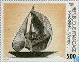 Postage Stamps - France [FRA] - Sculpture Antoine Pevsner