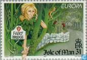 Timbres-poste - Man - Europe – Contes et légendes