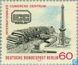 Briefmarken - Berlin - Eröffnung des Internationalen Congress-Centrums