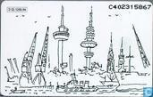 Telefoonkaarten - PTT Telecom - Hamburg - Rotterdam