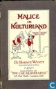 Books - Miscellaneous - Malice in Kulturland