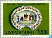 Briefmarken - Luxemburg - Töpferei