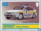 Timbres-poste - Jersey - Véhicules de police