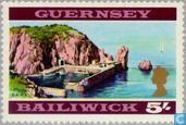Timbres-poste - Guernesey - Vues de Guernesey