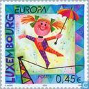 Postage Stamps - Luxembourg - Europe – The Circus