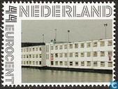 The Reno prison boat in Rotterdam