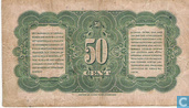 Banknotes - Currency note Nederlandsch-Indië - Dutch East Indies 50 Cent