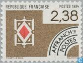 Postage Stamps - France [FRA] - Diamonds