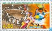 Postage Stamps - Monaco - Tennis Tournament