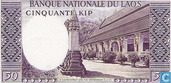 Billets de banque - Banque Nationale du Laos - Kip Laos 50 [12b]