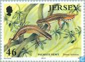 Postage Stamps - Jersey - Water