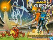 Strips - Magic Geox - Magic Geox, de Olympische Spelen en... de schoen die ademt