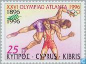 Postzegels - Cyprus [CYP] - Olympische Spelen- Atlanta
