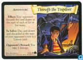 Trading Cards - Harry Potter 4) Adventures at Hogwarts - Through the Trapdoor
