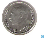 Coins - Luxembourg - Luxembourg 1 franc 1981