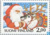 Postage Stamps - Finland - Christmas