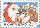 Timbres-poste - Finlande - Noël